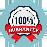 100 percent guarantee 1